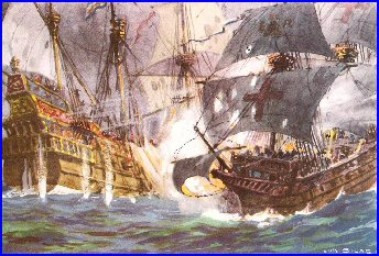 an analysis of the defeat of the spanish armada In conclusion, the spanish armada failed in its attempt to defeat the english due to a number of factors that i have discussed in my essay, luck, english tactics, spanish mistakes and even the weather played a part.
